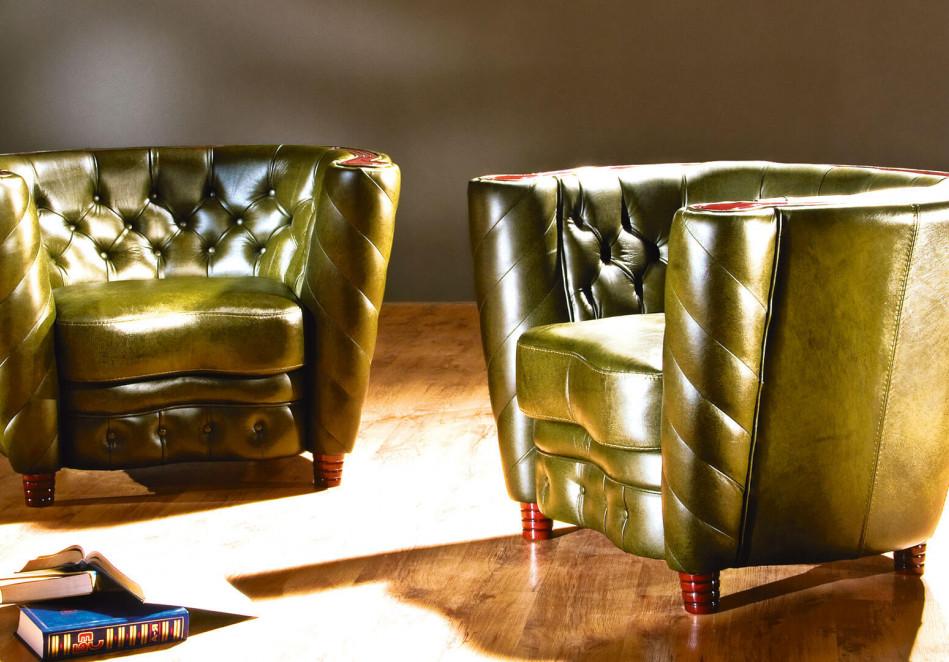Роскошное кресло в интерьере кабинета руководителя